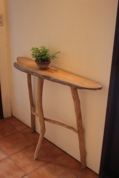 Wood side tables / Console Tables