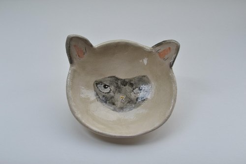 Siamese cat bowl · Siamese cat bowl