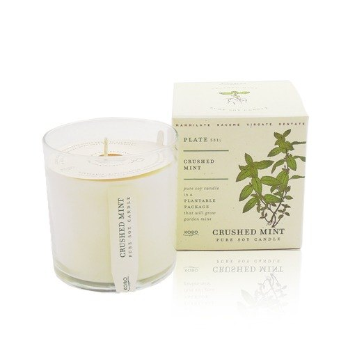[KOBO - US soybean oil candles - refreshing mint (280g / combustible 60hr)