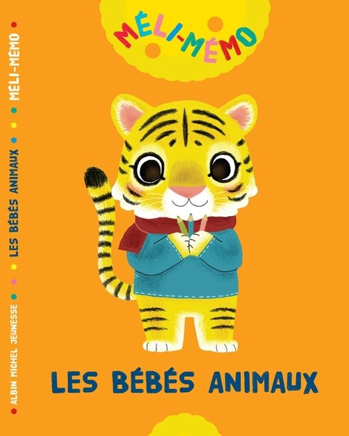 [Illustrated] animal baby picture books Game Book LES BÉBÉS ANIMAUX