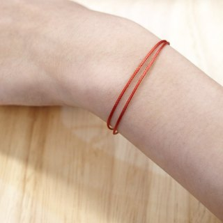 Charlene💕 traction bracelet 💕 - no ornaments, this page lucky red line