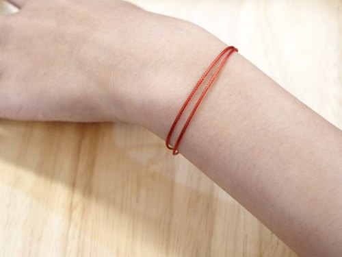 Charlene 💕 traction bracelet - no jewelry, this page lucky red line