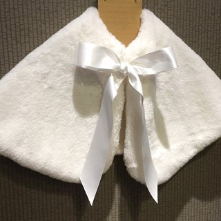 [Winter] defines imitation rabbit hair ribbon shawl