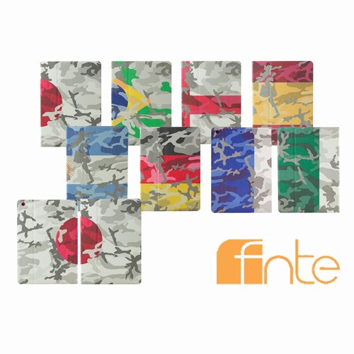 FIFA World Cup camouflage flags Apple iPad Air Case