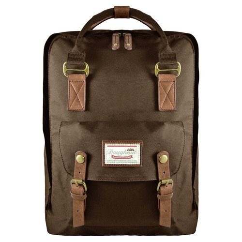 Doughnut water repellent increase after paragraph Macaron backpack - mocha