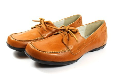 Lace Brown | playful boat shoes (existing size 40 #)