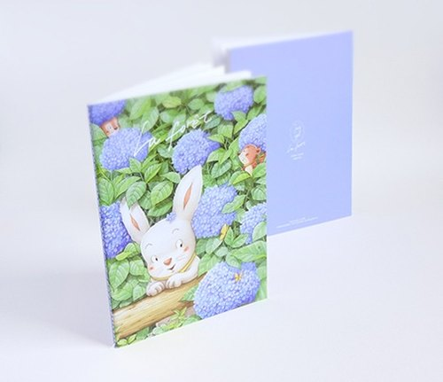 "Small forest little books ""Hydrangea Lane"" (notebook)"