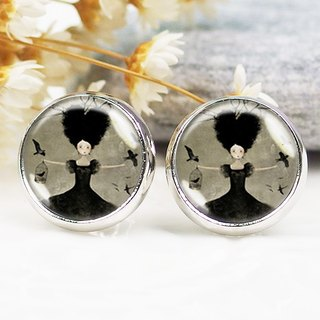 Witch - ear clip earrings earrings ︱ ︱ ︱ little face modified fashion accessories birthday gift