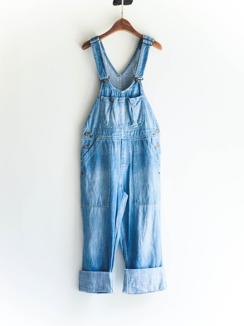 River Hill - All About Lily Chou-Chou-piece denim overalls suspenders shorts neutral Japan