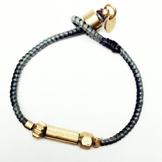 Little Dream ◆ Sugar Nok ◆ mechanical hand-woven wax wire bracelet brass