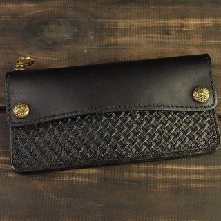 MT LIMITED EDITION- NO.013 Wallet 雕花釦基本款長夾