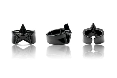 Solo Accessories dark pentagram ring jewelry / celebrate the opening of trade deals on a comprehensive free shipping
