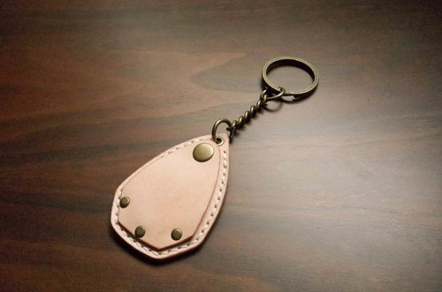 IPPI- access card / token key ring Leather / manual