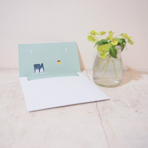Lightning pudding ♮ envelope (a set of three)