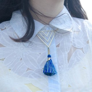 RE independent hand-made tassel necklace [rebirth - breaks away]