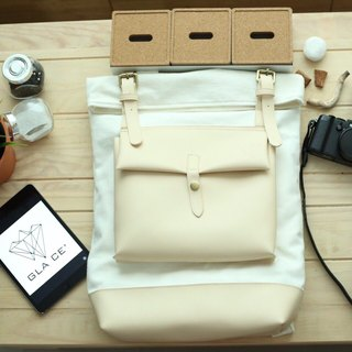 White Glace' Backpack First Edition