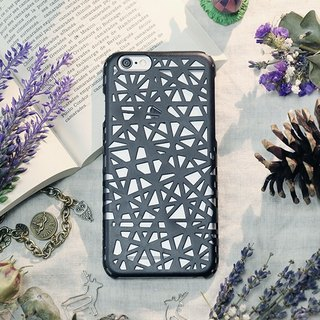 iPhone6 ​​Plus / Mobile Shell / Hard Shell / Swallowtail Black / Gift / Weave