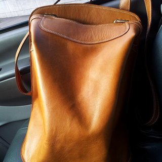 Full leather whims Backpack