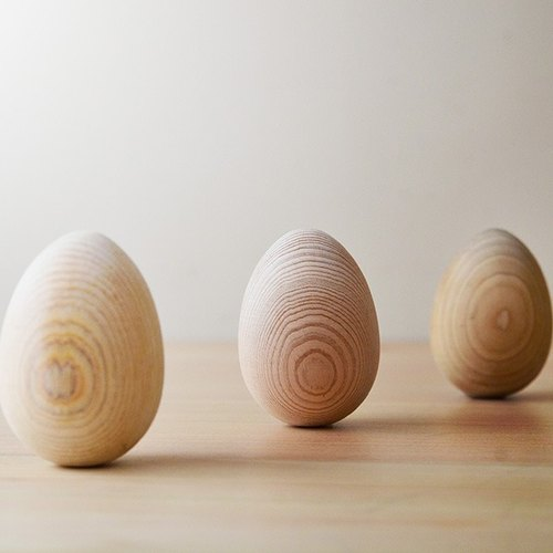 Aromatic Wooden Egg、Handmade、Massager