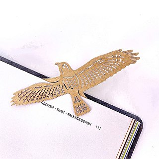 Mark TAIWAN McKee Zoo - Gray Eagle Paper Bookmarks
