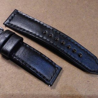 Custom hand-stitched strap Panerai military wind primary strap Hand strap vegetable tanned leather