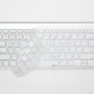 BEFINE Dedicated English Wireless Keyboard Protective Film - Wireless KB Dedicated Lion Edition Black on White