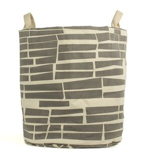 Canadian fluf Small Brick Portable Storage Pouch (Large) - Warm Gray