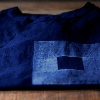 Indigo T-shirt ░ Circle XL