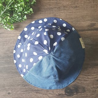 Half and Half - Handmade Bucket Hat | Double sided