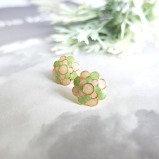 Glorikami Green Cauliflowers earrings