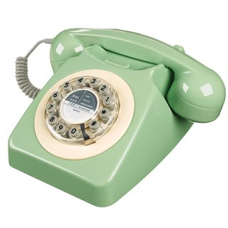 SUSS-UK imports 1950s 746 series retro classic phone / industrial style (Swedish green)