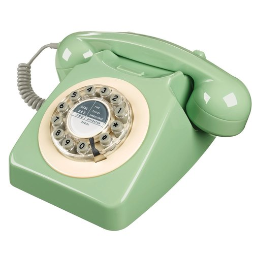 SUSS-British imports of the 1950s Series 746 retro classic phone / industrial wind (Sweden Green) --- Spot free shipping