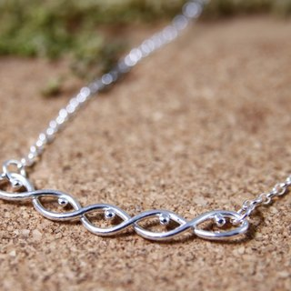 Sterling Silver Necklace / Smile