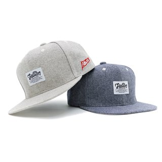 Filter017 人字紋後扣式棒球帽 - Single Jacquard Snapback Cap - W57