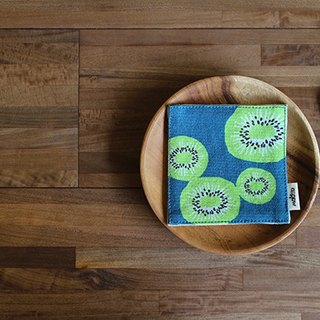 Maotu - Kiwi thick cloth coasters