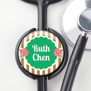 Stethoscope Identification Certificate No. 2 - Identification Card / Charm / Accessories [Special U Design]