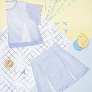 Hemming split Tops