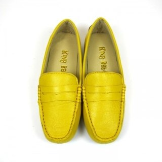 Fort Tony Wang handmade leather shoes (female) [sheep / soled / yellow]