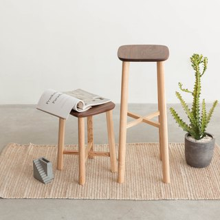 Laoshan Studio - Design Furniture Stool - American Ash Wood Bench