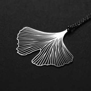 Ginkgo Necklace Ginkgo Pendant (S)