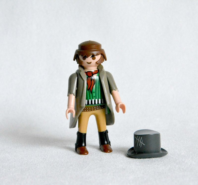 Early eighteenth century Germany playmobil Mobi rogue