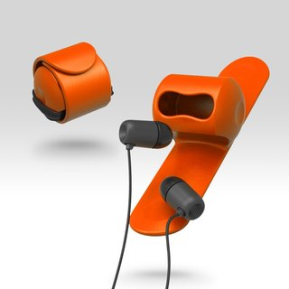 Snappy earphone butler-Orange#PinkoiENcontent