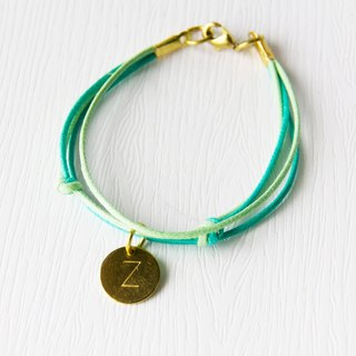 Belongs to / Brass Bracelet