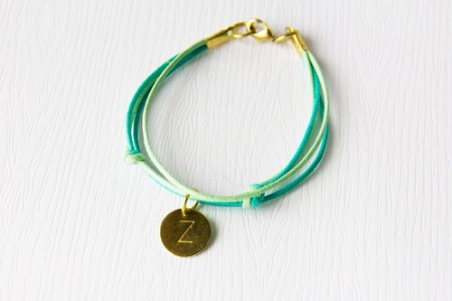 Belong to / brass bracelet