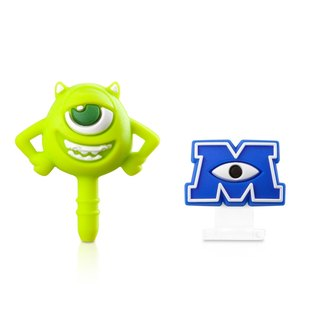 Big Eye Headphone Plug & Lightning Dust Plug Set - MU Monsters University