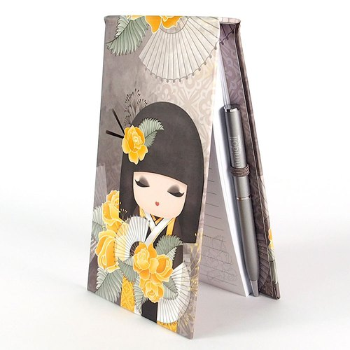Notepad 80-page attached to Naomi sincerely beautiful [Kimmidoll and blessing doll]