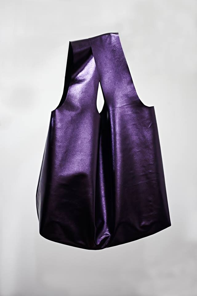 FUCK IT'& # 39; bag Stardust Purple M (Limited) minimalist design money bag