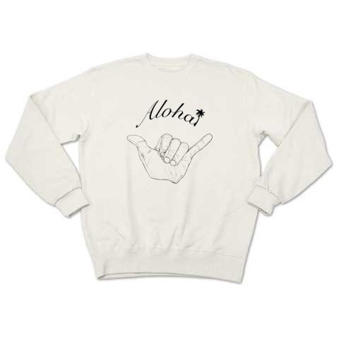 Aloha2 (sweat white)