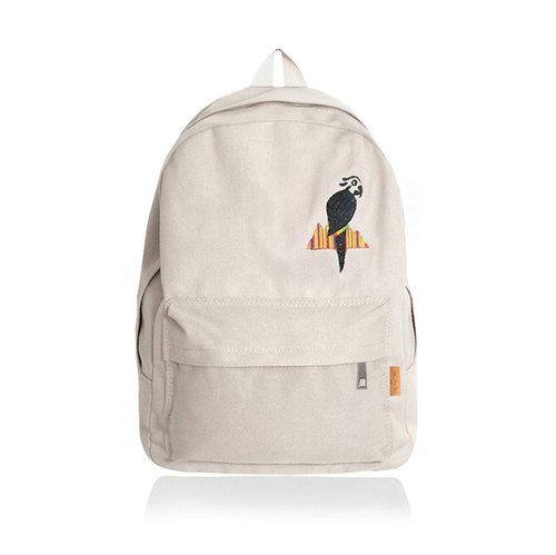 [Last] Mr. raise a parrot / m gray rucksack