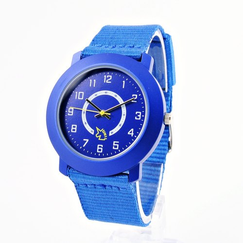 Features ultra-lightweight nylon with sapphire watch